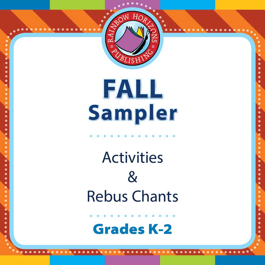 Fall Sampler Gr. K-2 - FREE WORKSHEETS - eBook