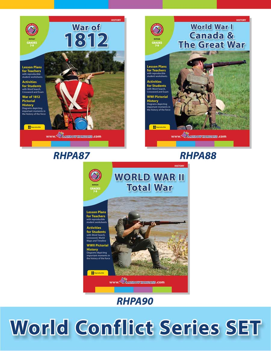 World Conflict Set Grades 7 To 9 Print Book Lesson Plan