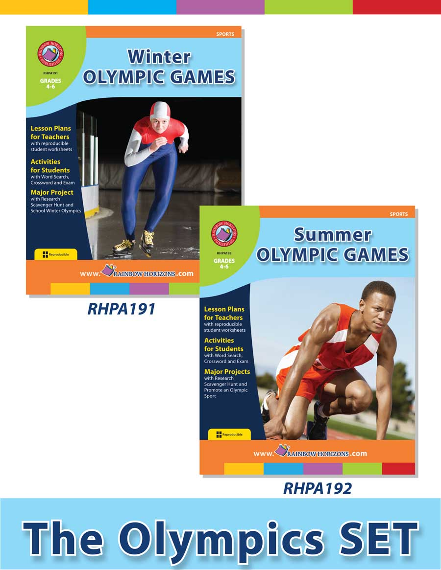 Sports Health Lesson Plans for SAVE BUY SETS Education Rainbow – Reproducible Student Worksheet