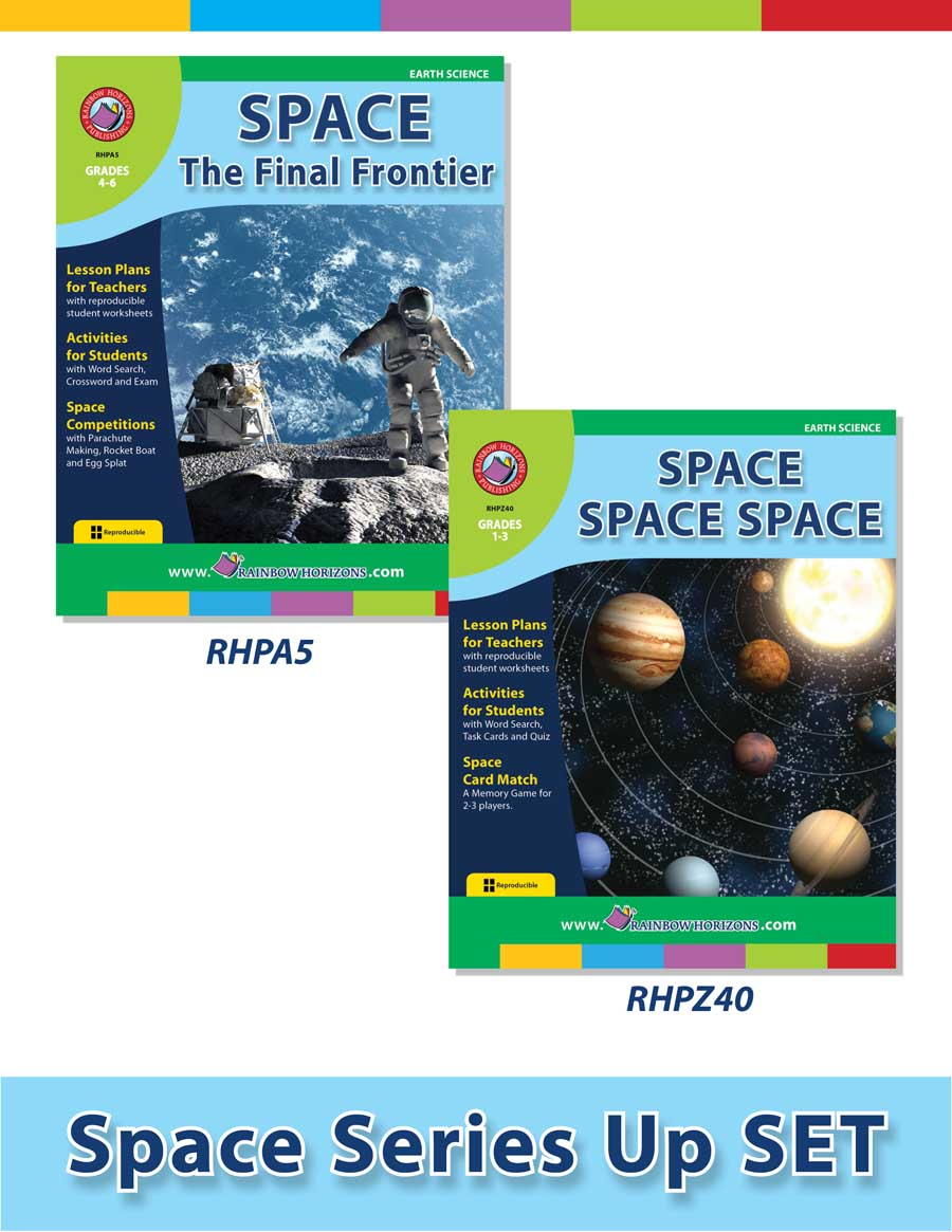 Science Lesson Plans for SAVE BUY SETS Education Rainbow Horizons – Reproducible Student Worksheet