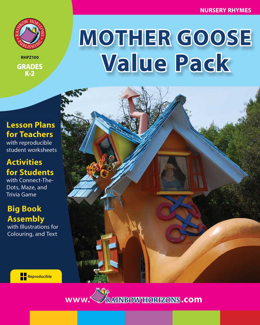 Mother Goose VALUE PACK Gr. K-2 - print book