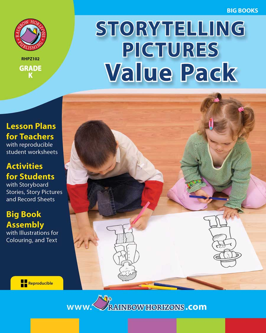 Storytelling Pictures VALUE PACK Gr. K - print book