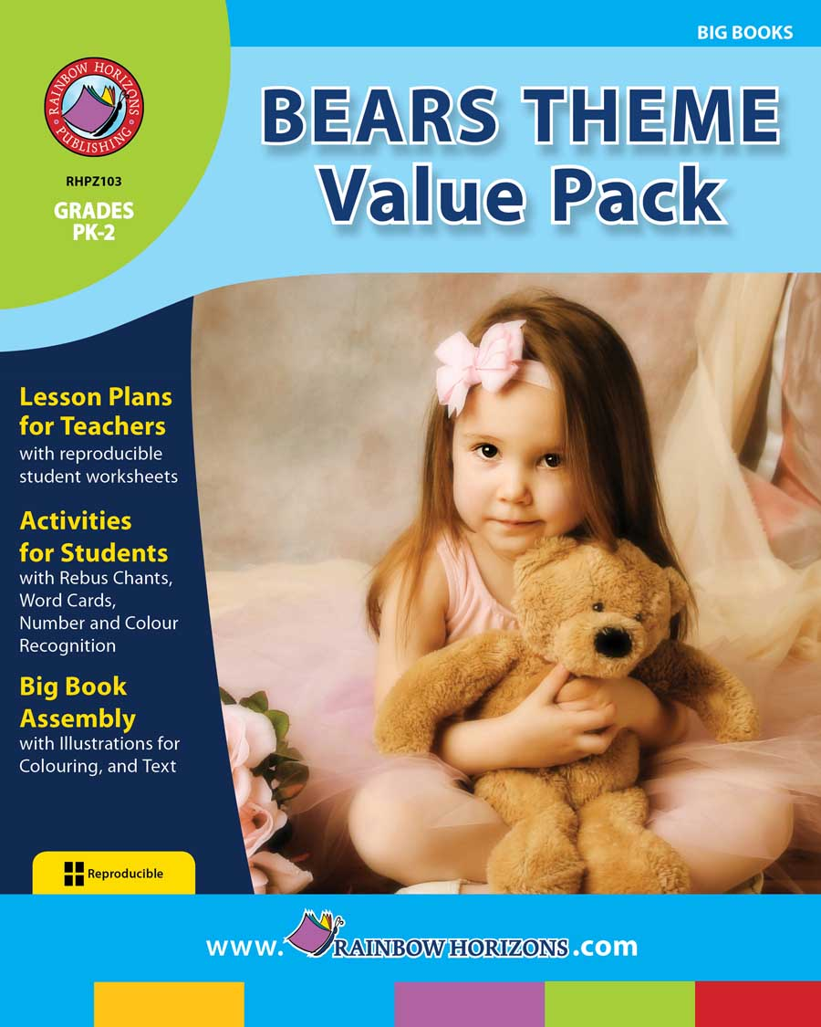 Bears Theme VALUE PACK Gr. PK-2 - print book