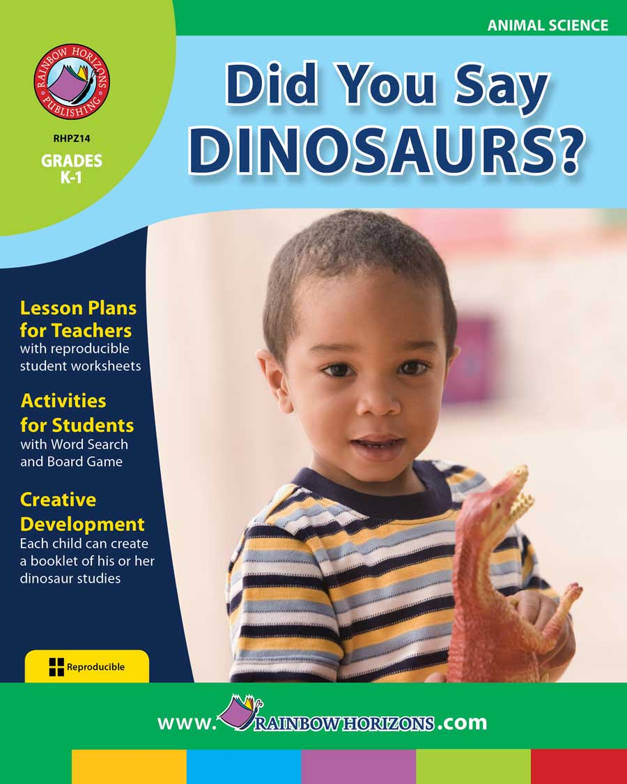 Did You Say Dinosaurs? Gr. K-1 - print book