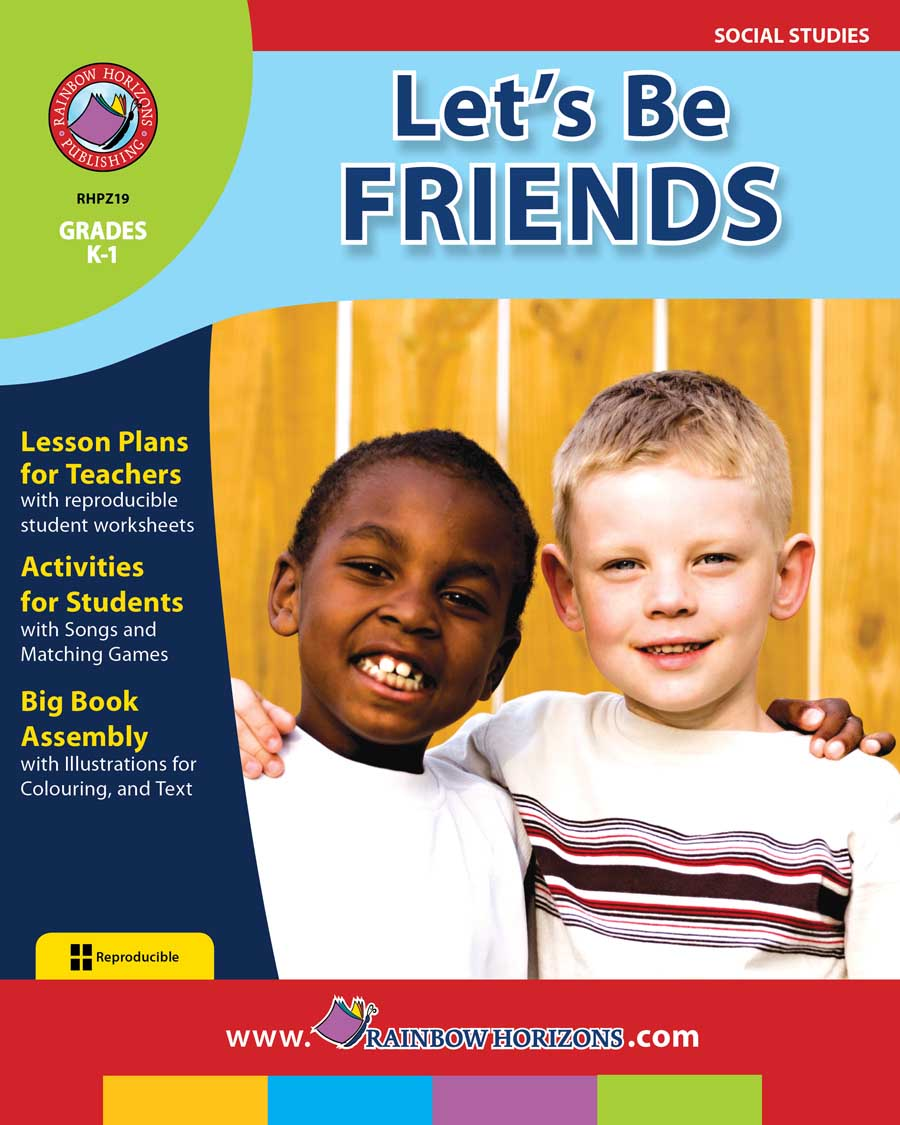 Let's Be Friends Gr. K-1 - print book