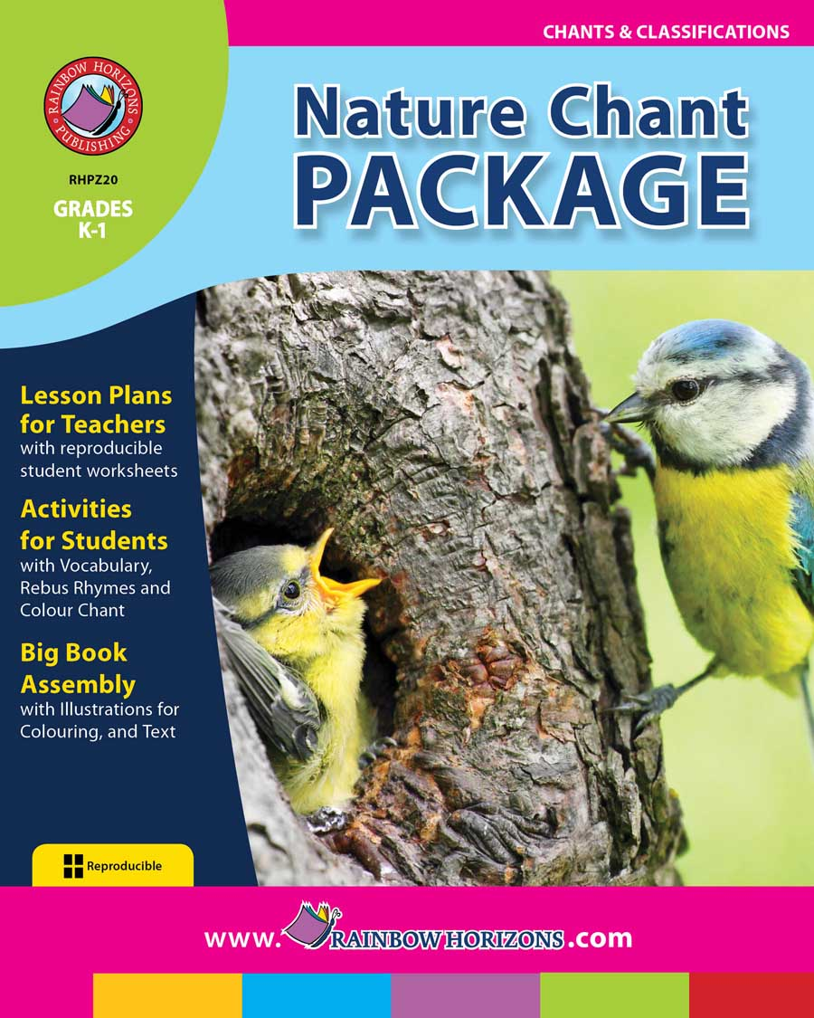 Nature Chant Package Gr. K-1 - print book