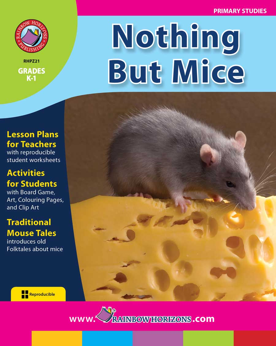 Nothing But Mice Gr. K-1 - print book