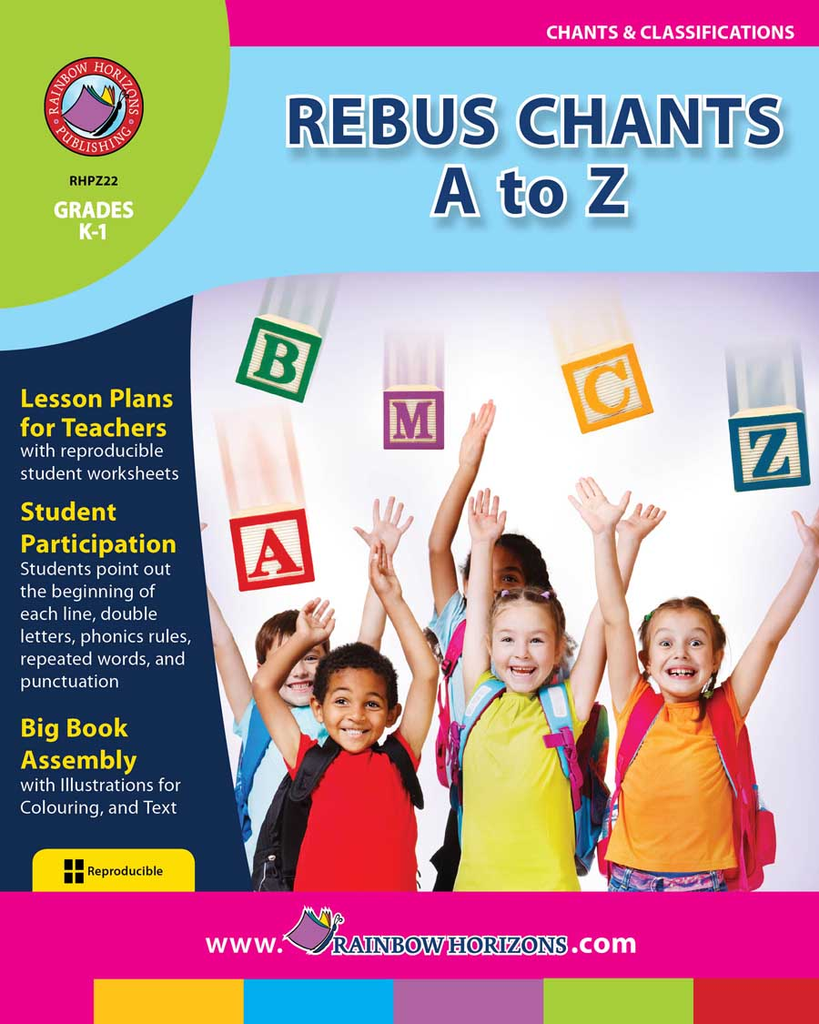 Rebus Chants A to Z Gr. K-1 - print book