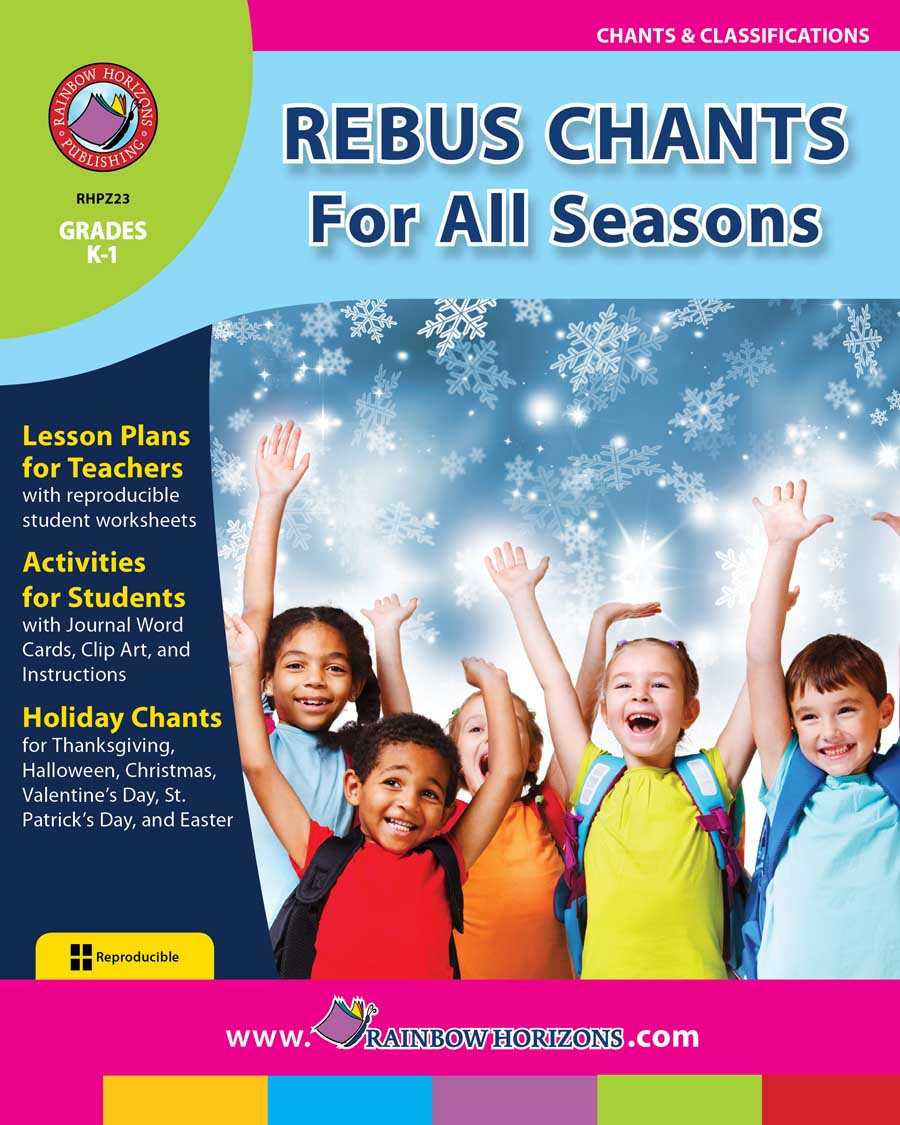 Rebus Chants Volume 1: For All Seasons Gr. K-1 - print book