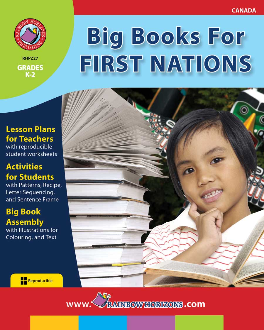 Big Books For First Nations Gr. K-2 - print book