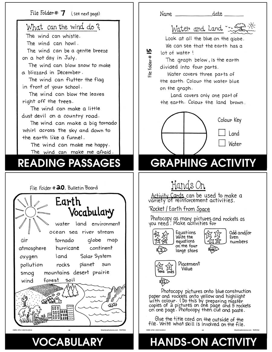 Earth Gr. 1-2 - print book