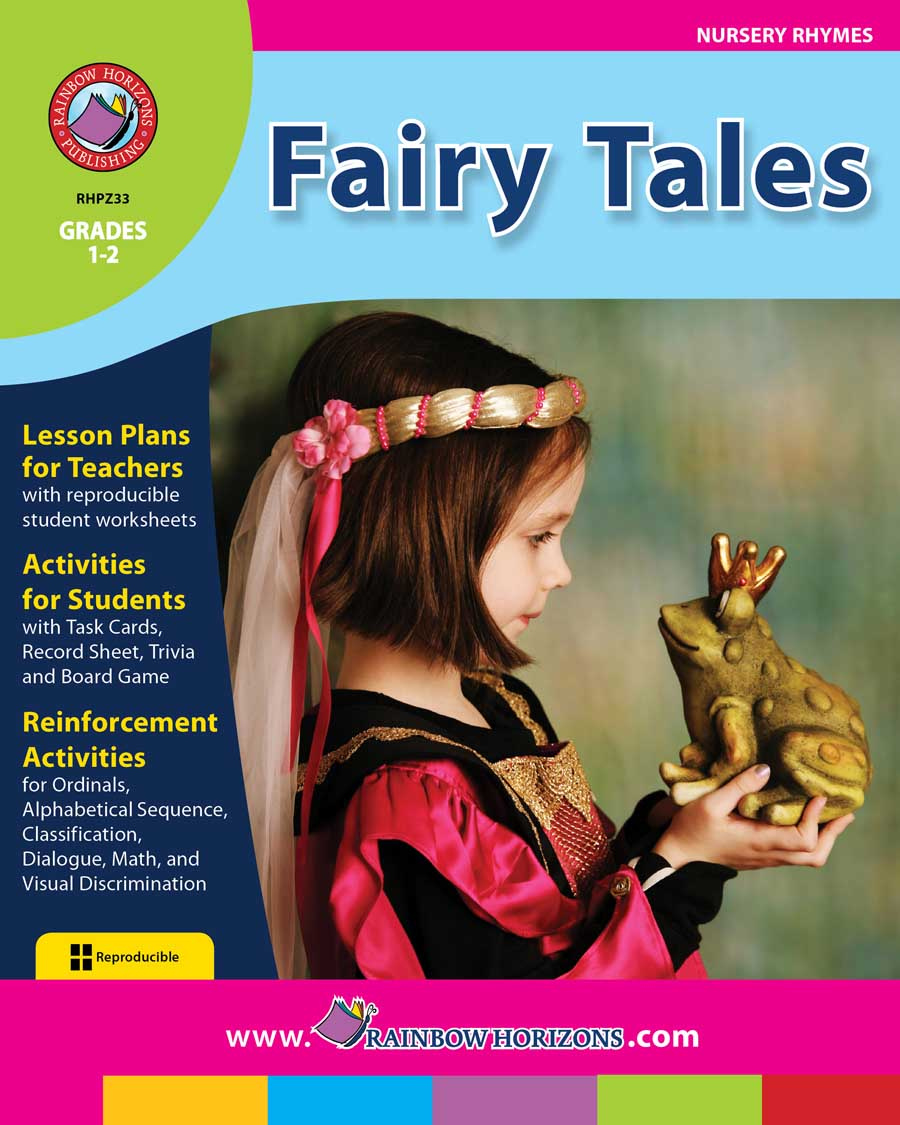 fairy tales grades 1 to 2 print book lesson plan rainbow horizons. Black Bedroom Furniture Sets. Home Design Ideas