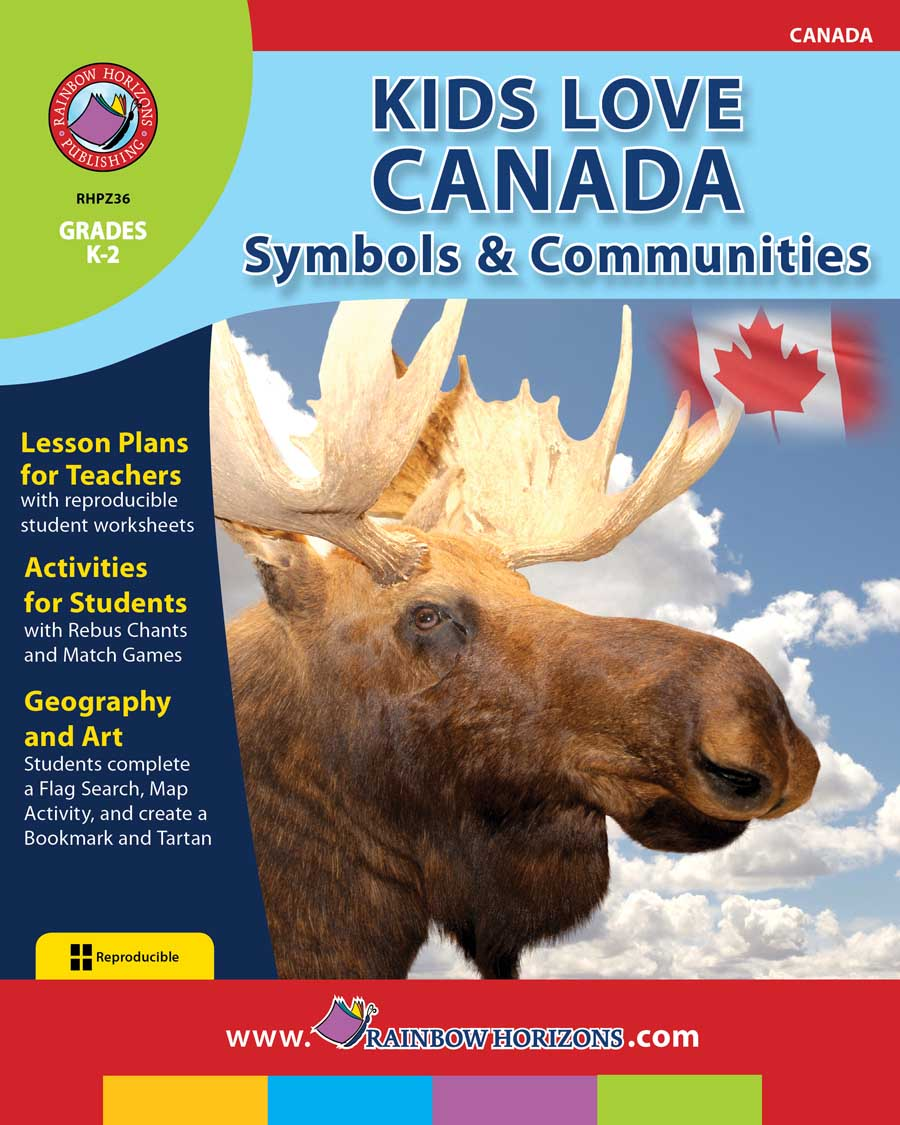 Kids Love Canada: Symbols & Communities Gr. K-2 - print book