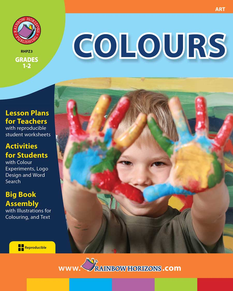 Colours Gr. 1-2 - print book