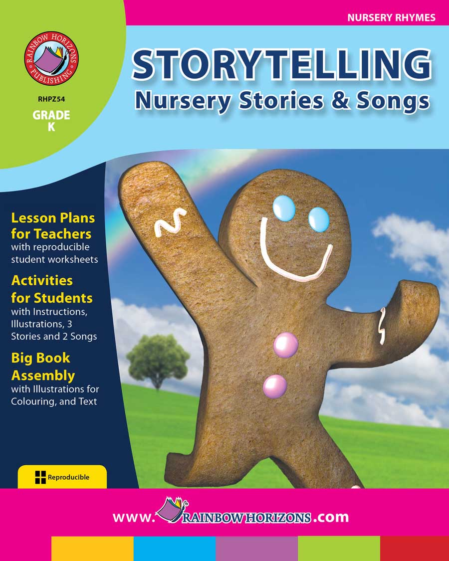 Storytelling: Nursery Stories & Songs  Gr. K - print book