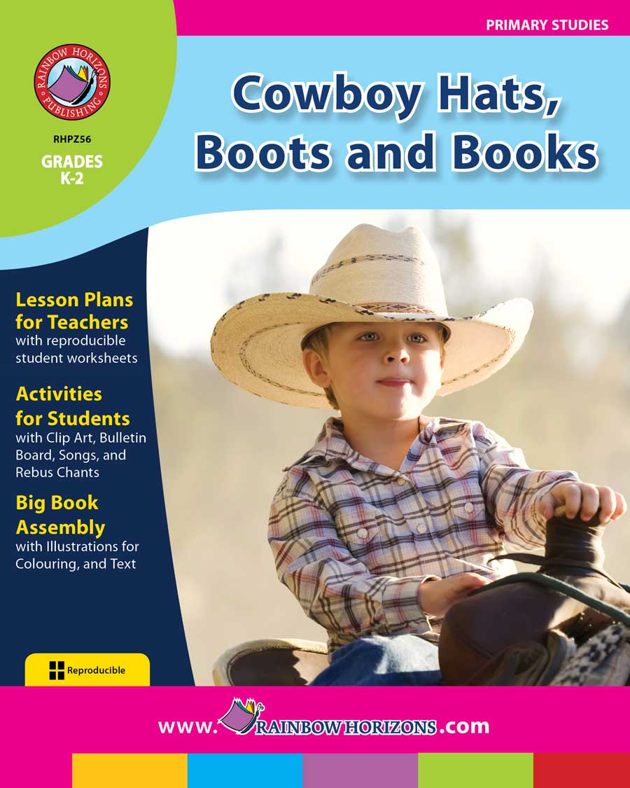 Cowboy Hats, Boots and Books Gr. K-2 - print book