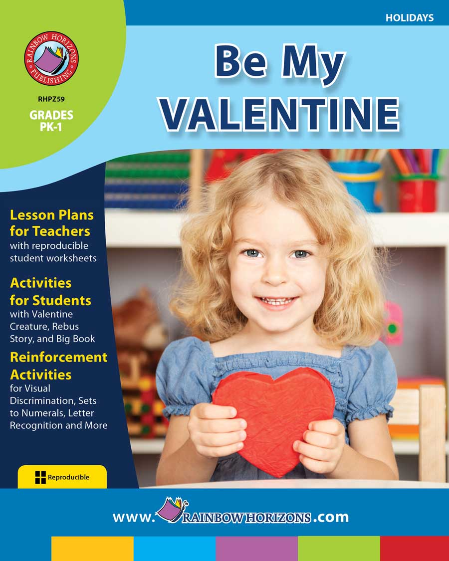 Be My Valentine Gr. PK-1 - print book