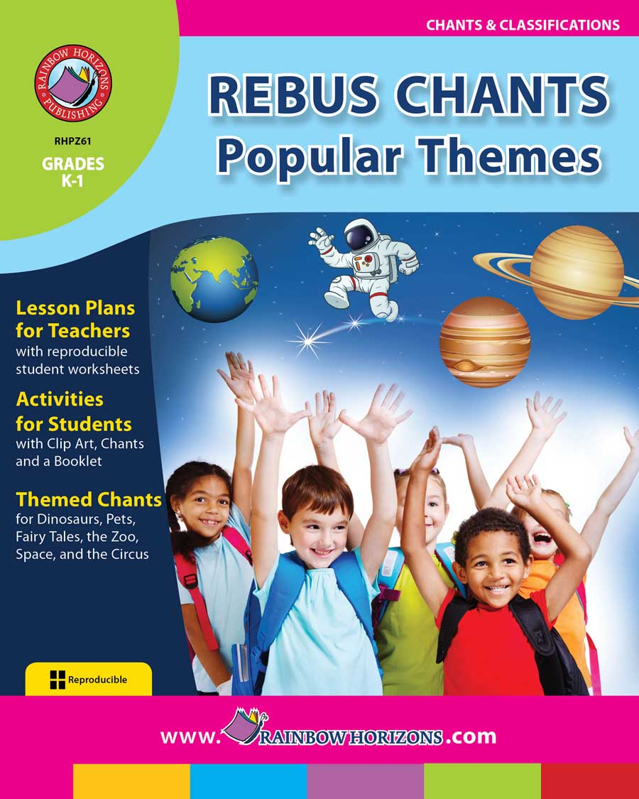 Rebus Chants Volume 2: Popular Themes Gr. K-1 - print book