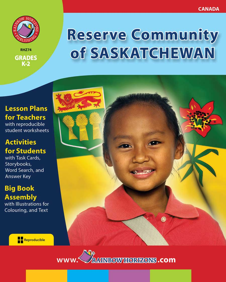 Reserve Community of Saskatchewan Gr. K-2 - print book