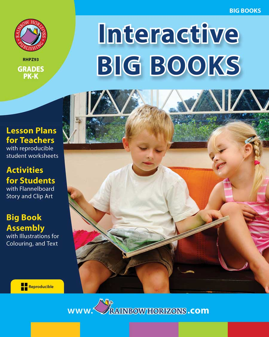 Interactive Big Books Gr. PK-K - print book