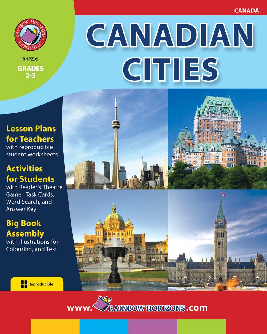 Canadian Cities Gr. 2-3 - print book