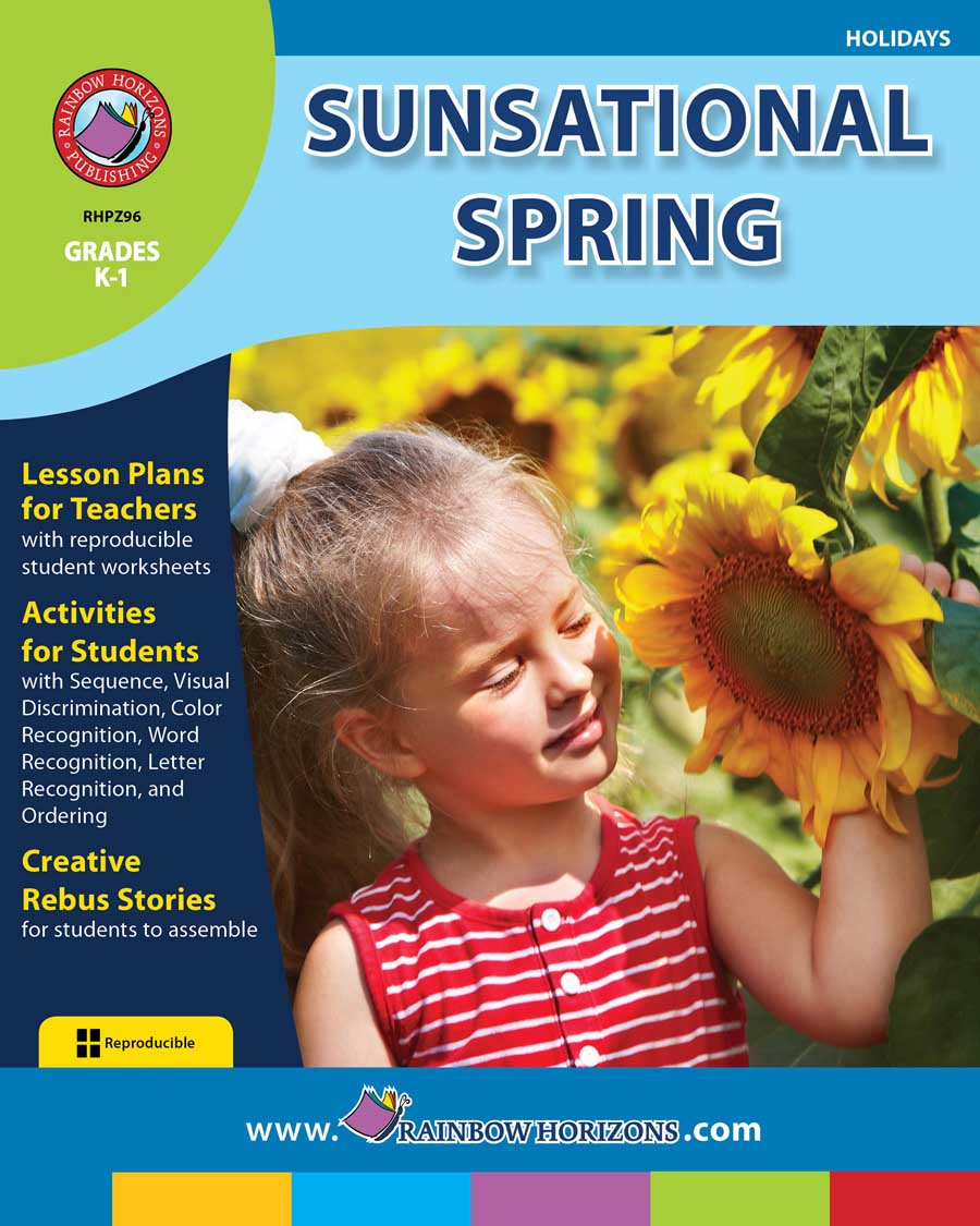Sunsational Spring Gr. K-1 - print book