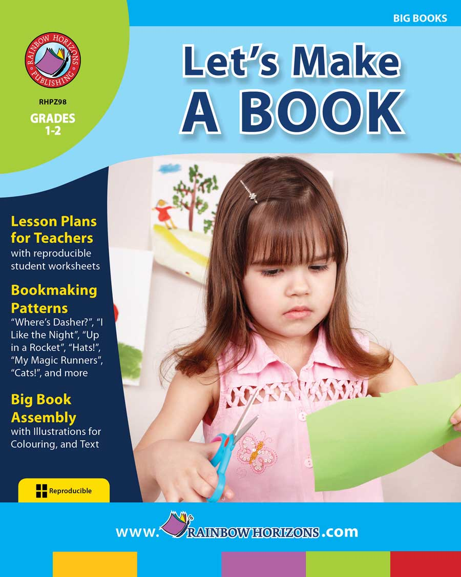 Let's Make A Book Gr. 1-2 - print book